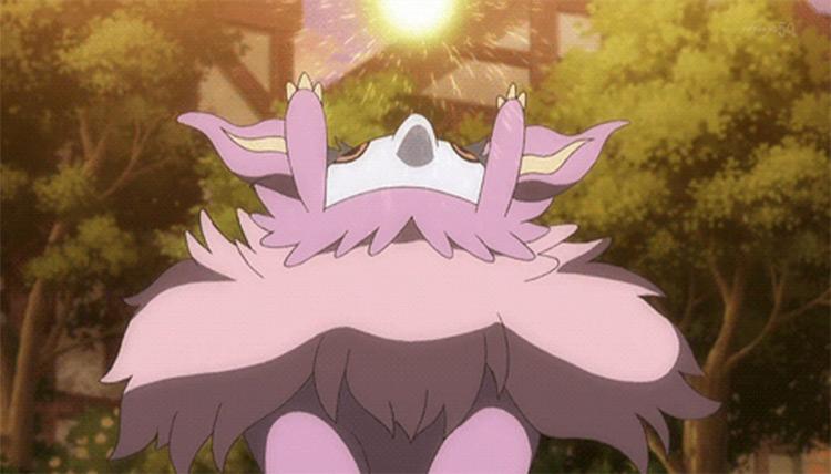 Aromatisse in the Pokemon anime