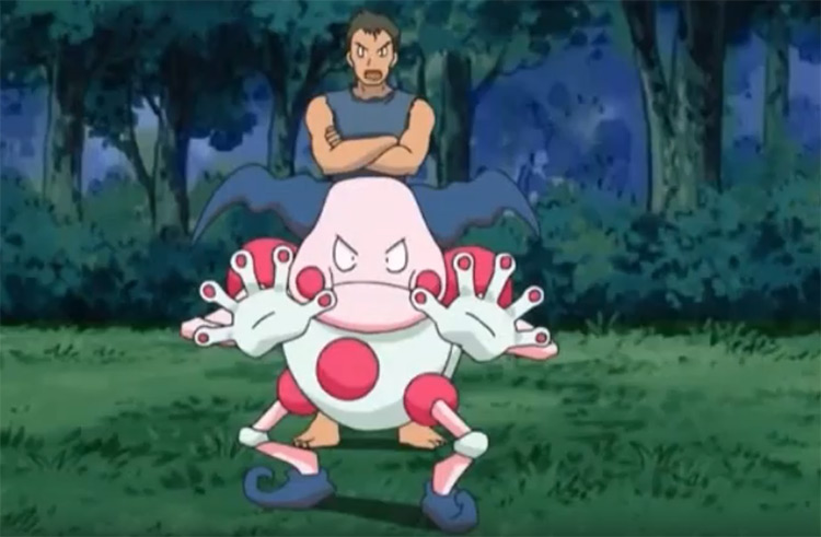 Mr. Mime Pokemon anime screenshot