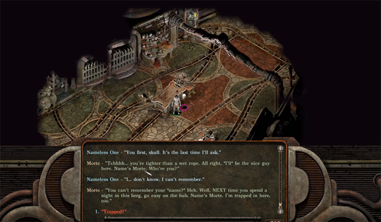 Planescape Enhanced Edition DnD gameplay