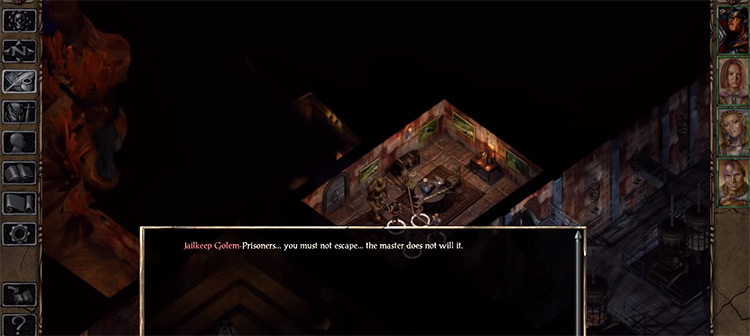 Baldur's Gate 2 screenshot