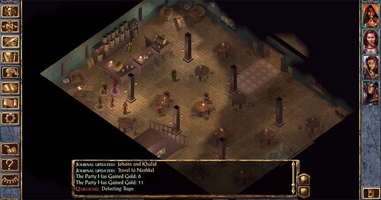 Baldur's Gate Enhanced Ed. Screenshot