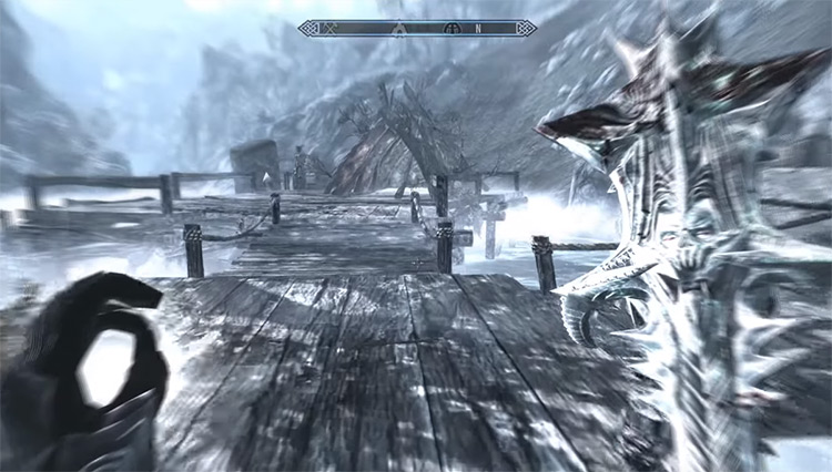 Slow Time shout in Skyrim